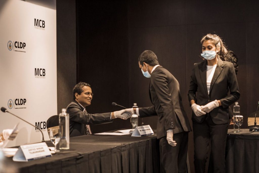 Sri Lanka Law College at the Willem C. Vis National Rounds Finals