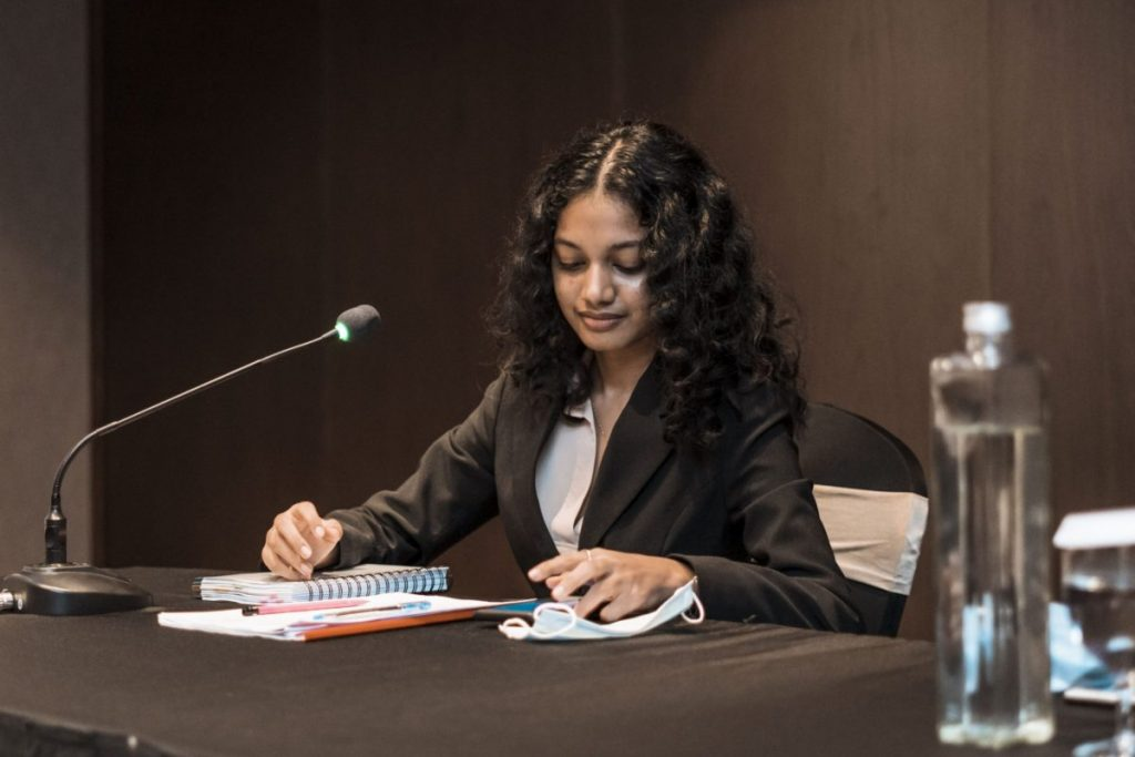 Amasha Samarasinghe, Oralist at the Willem C. Vis National Rounds 2020