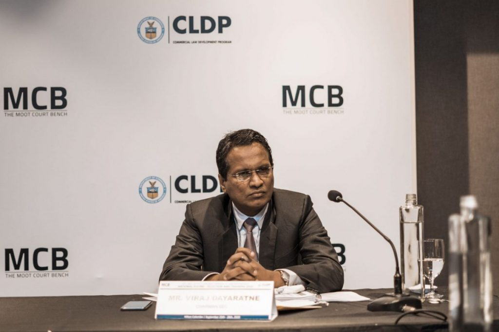 Viraj Dayaratne, Chairman of the SEC - Sri Lanka